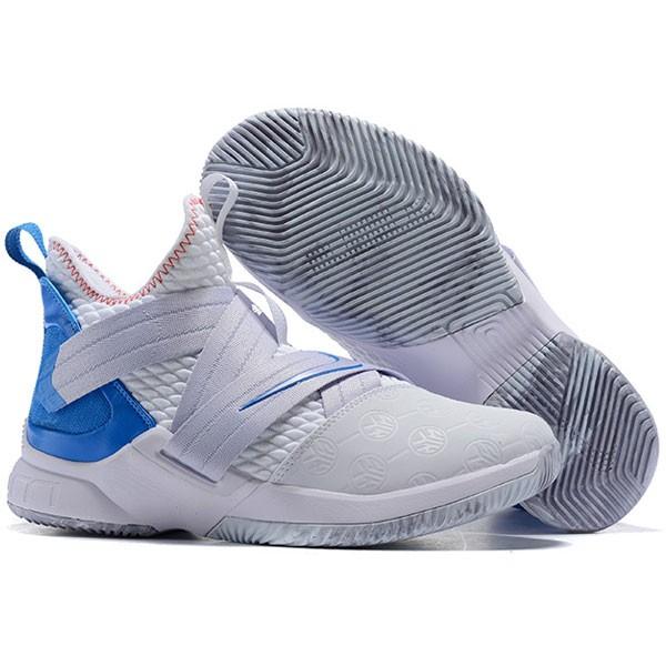 LeBron Soldier XII 詹姆斯 戰士 士兵12代 籃球鞋 白藍色 男款 最高品質❤️