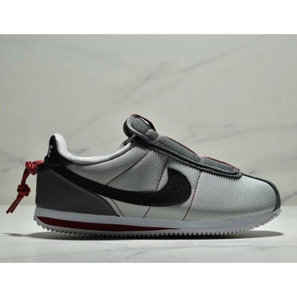 Nike Cortez Kenny IV 110E2022聯名 全新阿甘一腳蹬設計 運動休閒慢跑鞋 男鞋 灰黑紅