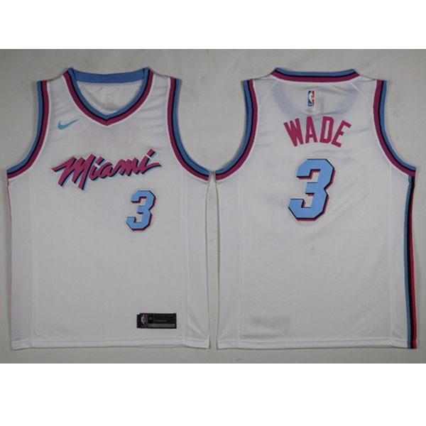 Nike NBA球衣 熱火城市版