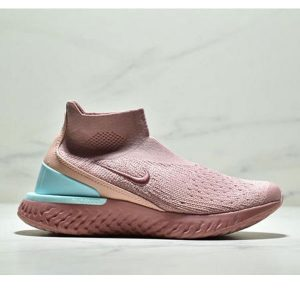 0260e2b6b84729da 300x300 - Nike Epic React Flyknit  瑞亞新款 高幫針織襪子鞋 女款 粉色
