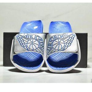 06768bda65de558e 300x300 - NIKE Air Jordan Hydro AJ7 7代 魔術氈 運動拖鞋 情侶款 白寶藍