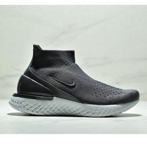 0b17b88a9c045bff 300x300 - Nike Epic React Flyknit  瑞亞新款 高幫針織襪子鞋 情侶款 黑色