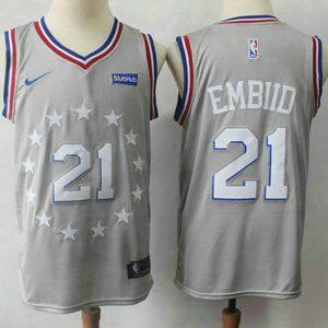 0f8de64fec3d65d8 300x300 - Nike NBA球衣 76人 21號 灰色 城市版  S-XXL