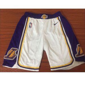 124378ff7649ccf6 300x300 - Nike NBA球衣 球褲湖人復古白