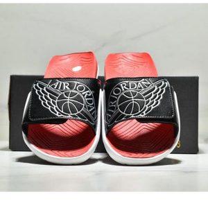 18293993621e8d24 300x300 - NIKE Air Jordan Hydro AJ7 7代 魔術氈 運動拖鞋 情侶款 黑紅白