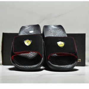 1934249bca9a0862 300x300 - NIKE Air Jordan Hydro AJ7 7代 魔術氈 運動拖鞋 情侶款 黑紅黃