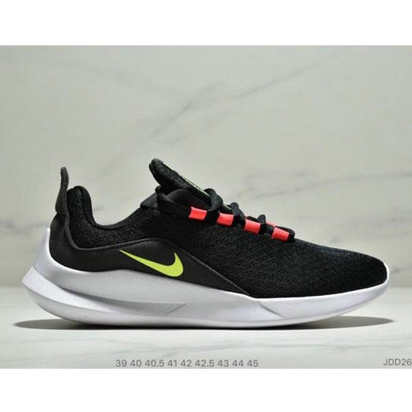 Nike VIALE維亞爾系列網面輕便運動休閒跑步鞋 男款 黑紅綠