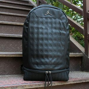 1dbb99050557e85b 300x300 - Nike Air Jordan 同款 純色AJ雙肩揹包 黑色