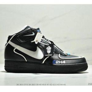 20812fc6598ab439 300x300 - Mastermind World x Nike AF1 Low 聯名款空軍板鞋 3M反光效果 情侶款 黑白