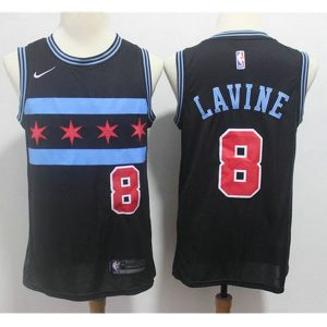 25f891727dfff4d5 300x300 - Nike NBA球衣 公牛8四星款 黑色