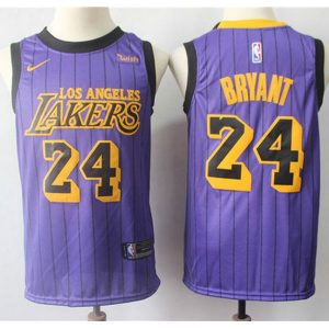 298d5f7768e774c5 300x300 - Nike NBA球衣 湖人24號2019新款紫色城市版