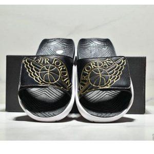 2bb85e3a502a86a5 300x300 - NIKE Air Jordan Hydro AJ7 7代 魔術氈 運動拖鞋 情侶款 黑金