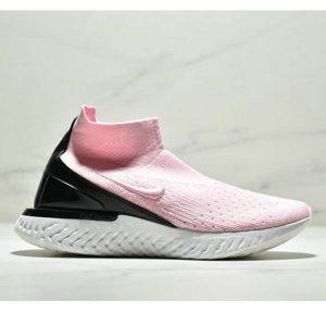 2e00c83b6f9f6fb1 300x300 - Nike Epic React Flyknit  瑞亞新款 高幫針織襪子鞋 女款 粉黑