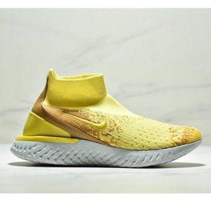 309ddfb91578d8cc 300x300 - Nike Epic React Flyknit  瑞亞新款 高幫針織襪子鞋 情侶款 黃色