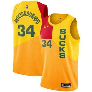336e015254053e41 300x300 - Nike NBA球衣 雄鹿34城市版