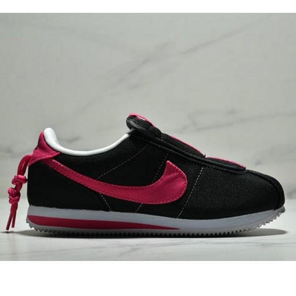 Nike Cortez Kenny IV 110E2022聯名 全新阿甘一腳蹬設計 運動休閒慢跑鞋 女鞋 黑桃紅