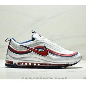 3aea383df18ddb52 300x300 - Nike Air Max 97 大勾子彈復古全掌氣墊休閒運動鞋 情侶款 白深藍紅