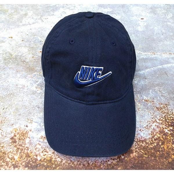 nike 帽子 夏季 棒球帽 男 百搭 鴨舌 太陽帽 運動 旅遊 遮陽帽 深藍