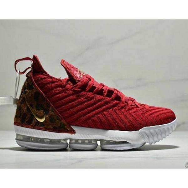 Nike Lebron XVI 勒布朗 詹姆斯16代籃球戰靴 男款 紅金