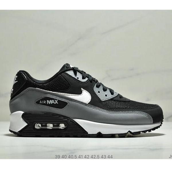 Nike Air Max 90 Essential 復古氣墊休閒跑鞋 男款 黑灰白