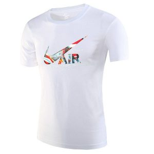 42ea70cd16548dba 300x300 - NIKE 跑步 短袖t恤 情侶款 圓領 莫代爾棉 打底衫 修身 簡約 上衣服