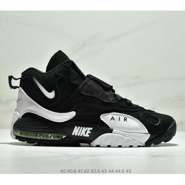Nike Sportswear Air Max Speed Turf 加速實驗系列復古氣墊籃球鞋黑白奧利奧 男款 黑白