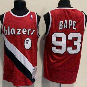 43d5137b6f709e46 300x300 - Nike NBA球衣 猴爺聯名款開拓者93  紅色