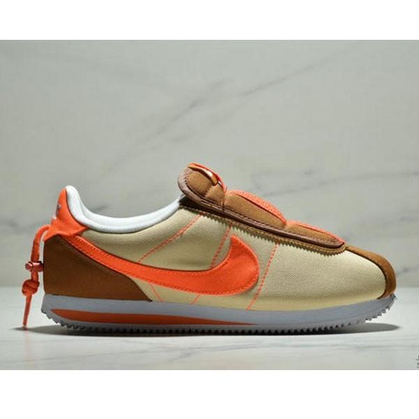 Nike Cortez Kenny IV 110E2022聯名 全新阿甘一腳蹬設計 運動休閒慢跑鞋 男女鞋 黃橘