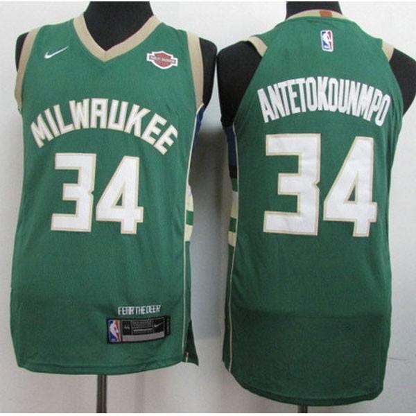 Nike NBA球衣 雄鹿