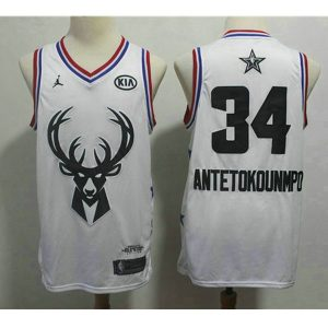 46f6ed78fe7ac9ff 300x300 - Nike NBA球衣 全明星雄鹿34白