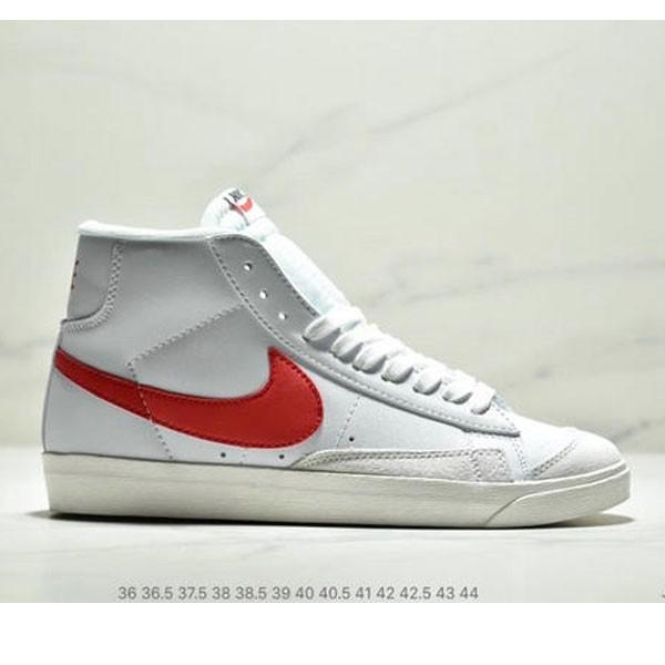 NIKE BLAZER MID  77 VNTG012613 高幫開拓者頭層皮經典板鞋 情侶款 白紅
