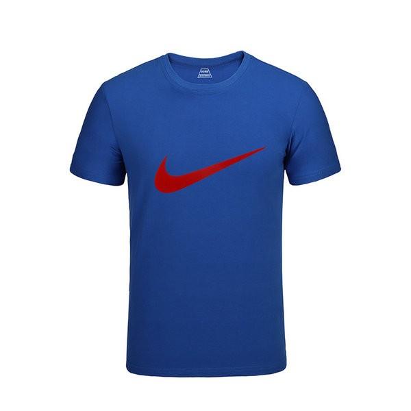 48ce2a5576adfdc8 - NIKE 跑步 短袖t恤 情侶款 圓領 莫代爾棉 打底衫 修身 簡約 上衣服