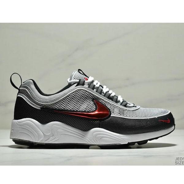NIKE ZOOM SPRDN 運動 慢跑鞋 網面 透氣 舒適緩震 男鞋 白黑紅