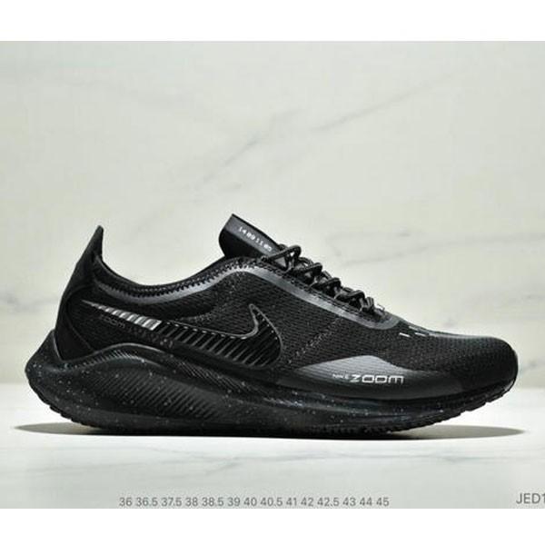 NIKE EXP-Z07 登月V14.5 運動休閒跑步鞋 情侶款 黑白