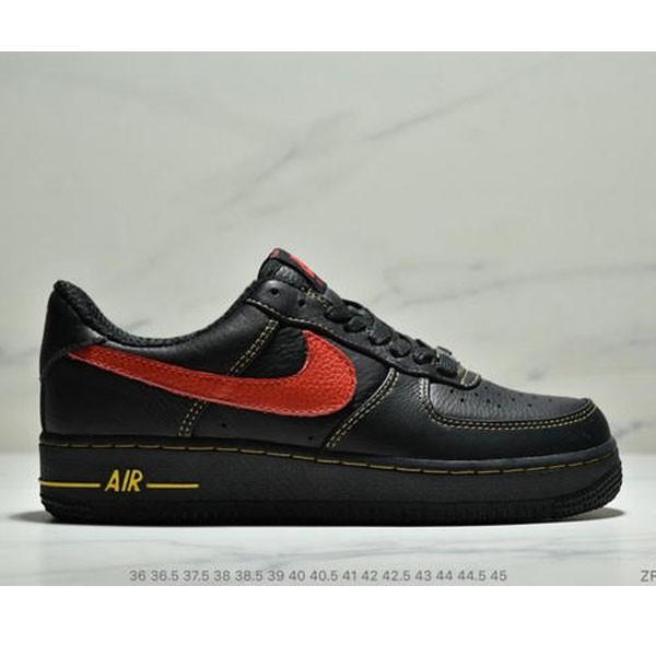 VLONE x Nike Air Force 1 之市售版空軍一號陳冠希超限量VLONE簽名版 低幫聯名款 情侶款 黑紅