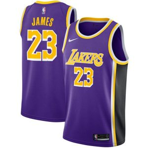 55c97de090cbbf79 300x300 - Nike NBA球衣 湖人23圓領紫