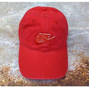 56d207fd9b863eed 300x300 - nike 帽子 夏季 棒球帽 男 百搭 鴨舌 太陽帽 運動 旅遊 遮陽帽  紅色