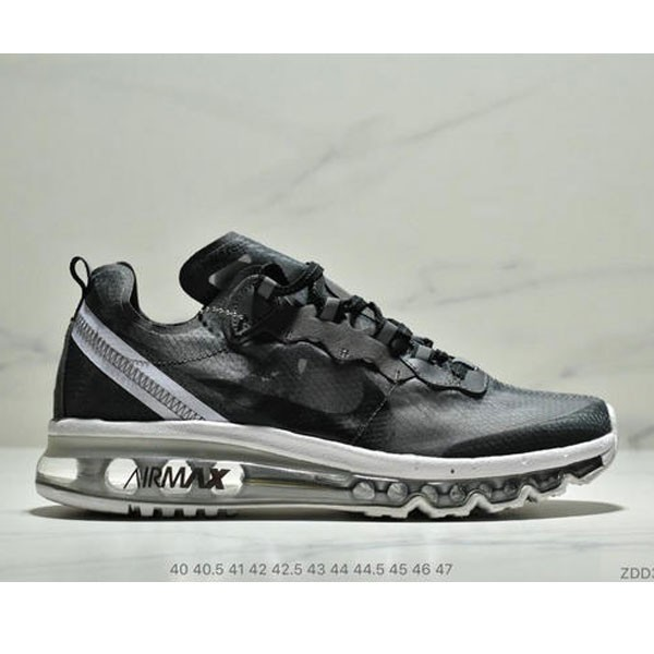 Nike React Element 87全新演繹注入Max 2019 氣墊 男款 黑白