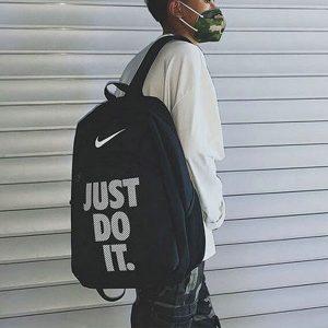 5b4105915ed75150 300x300 - Nike Just Do It 雙肩包 情侶揹包 休閒學生書包 黑色