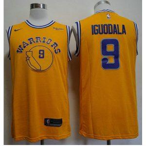 5b74a67628722155 300x300 - Nike NBA球衣 勇士復古 9號 伊戈達拉 黃色