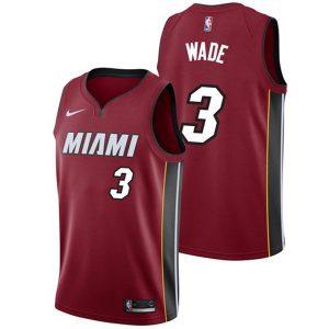 6091b34422bcf4df 300x300 - Nike NBA球衣 熱火3紅