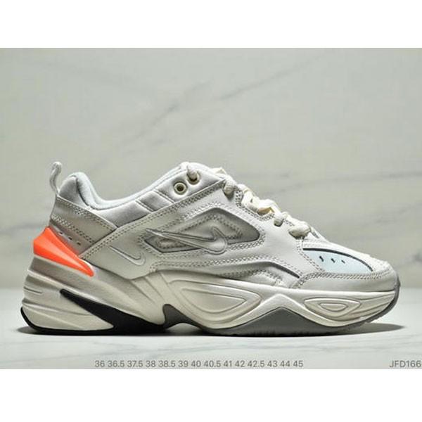 Nike Air M2K Tekno 復古老爹鞋 男女款 白橘