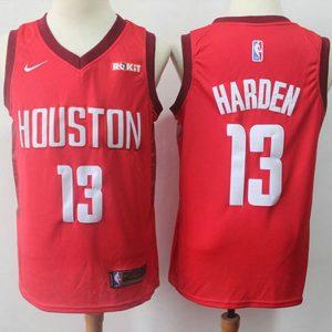 6c9e8aec01164df9 300x300 - Nike NBA球衣 火箭13 紅色季後賽獎勵版