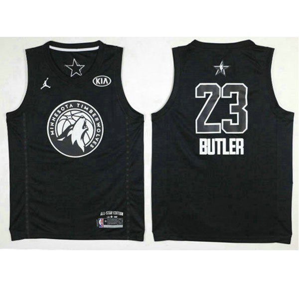 Nike NBA球衣 全明星 黑色