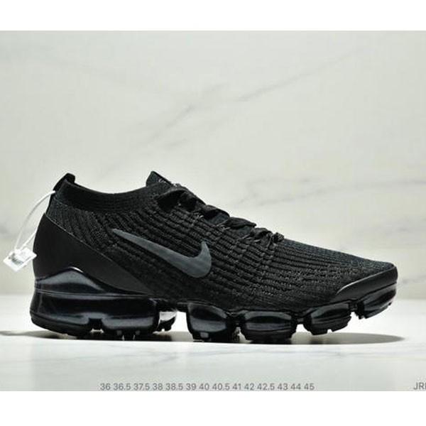Nike Air VaporMax Flyknit W 3.0三代大氣墊百搭休閒運動慢跑鞋 情侶款 黑色
