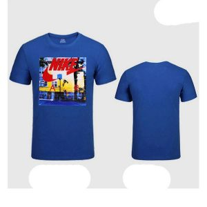 7479de11ac98f3f5 300x300 - NIKE 跑步 短袖t恤 情侶款 圓領 莫代爾棉 打底衫 修身 簡約 上衣服