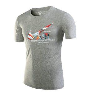 783e18f162994a35 300x300 - NIKE 跑步 短袖t恤 情侶款 圓領 莫代爾棉 打底衫 修身 簡約 上衣服