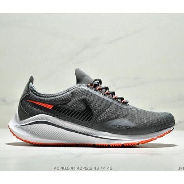 NIKE EXP-Z07 登月V14.5 運動休閒跑步鞋 男款 深灰黑橘