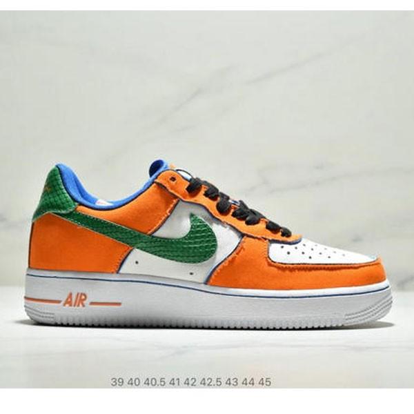 Nike Air Force 1 Dragon Ball X 悟空 男款 白黃綠