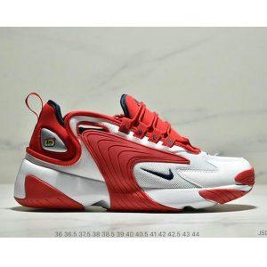 8160c603de5413e6 300x300 - Nike Zoom +2K Sneaker White/Black Zoom 2000復古百搭老爹慢跑鞋 男女款 白紅黑